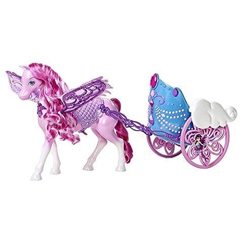 Barbie - Y6382 - Accessoire Poupée - L'Attelage des Fées
