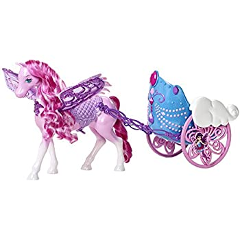 Barbie Mariposa & the Fairy Princess: Pegasus and Flying Chariot