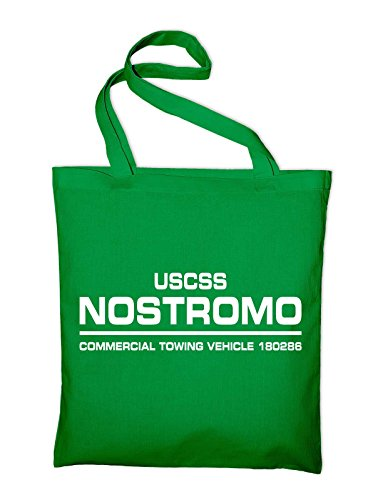 Uscss Nostromo Alien Weyland Corp Borsa Di Iuta, Borsa, Borsa Di Stoffa, Borsa Di Cotone, Verde Giallo
