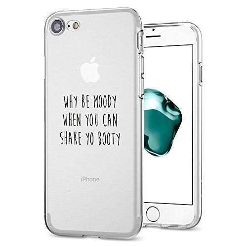 iPhone 6 Hülle, TPU Silikon Schutz Handy Hülle Handytasche HandyHülle Etui Schale Dandelion Case Cover Tasche Etui für Apple iPhone 6s Plus 5