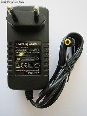 Makita BMR100 BMR100 Site Radio Mains 12V AC-DC Adaptor Power Supply Charger EU