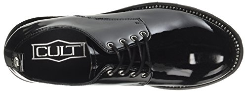 Cult Women Zeppelin Low 1822 Derby Shoes Nero (nero)