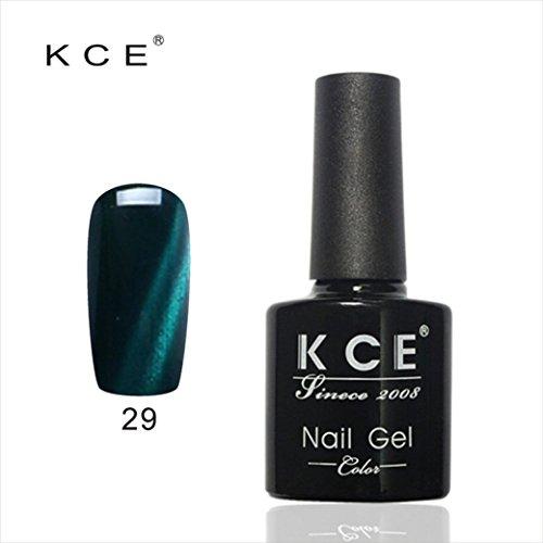 Coolster Maniküre UV-Kleber Nagellack Top Mantel Nail Lightener Katzen Auge Dunkles Farbe Nagel Gel -K