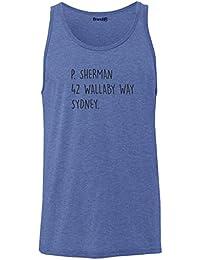 Brand88 - P Sherman 42 Wallaby Way Sydney, Unisex Jersey Vest