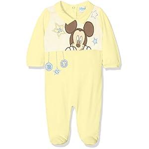 Mickey Mouse bebé-niños Pijama Largo 6