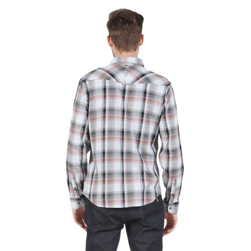 Volcom - - Reed Woven Shirt pour hommes Oatmeal