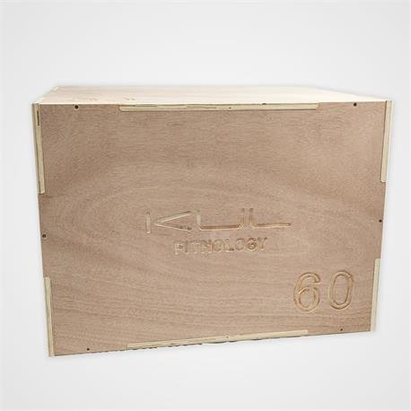 KUL FITNESS - Cajón de salto pliometrico de madera