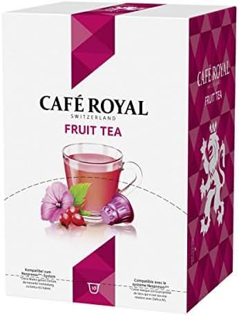 Café Royal Thé Fruit Rouge - 10 Capsules Compatibles avec le Système Nespresso®*