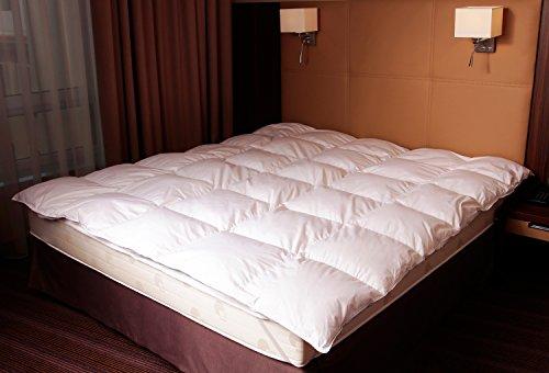 Mayaadi-Home MA23 Winter Daunen Bettdecke Decke Steppbett Steppdecke Daunen 135x200cm 1400 Gr. 100 prozentiges Naturprodukt