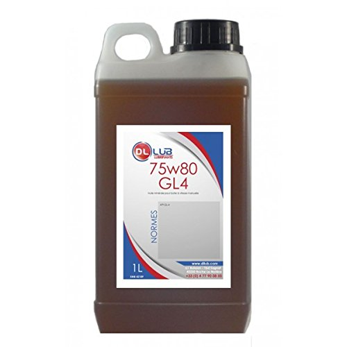 DLLUB – HUILE BOITE VITESSE MINERALE 75W80 – 1 litre pas cher