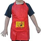 Chipie Mädchen Kinder -Tablier PVC Rot Essen Küche