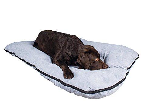 Letto per cani / cuscino per cani XXL 120x80 cm, grigio, materasso per cani