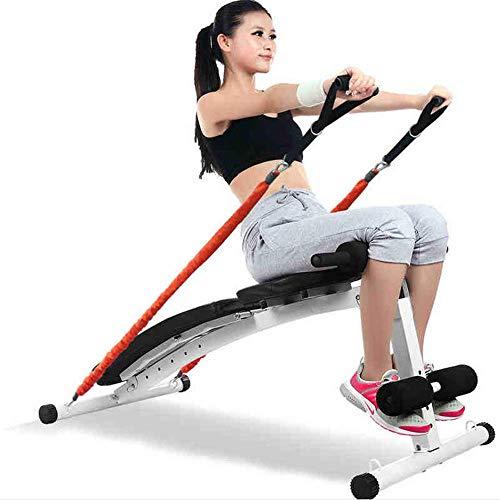 RXRENXIA Feinere Form Gym-Qualität Sit Up Bank Mit Reverse Crunch Griff Für Ab-Übungen Aus (Ab Crunch Und Sit Up Bank)