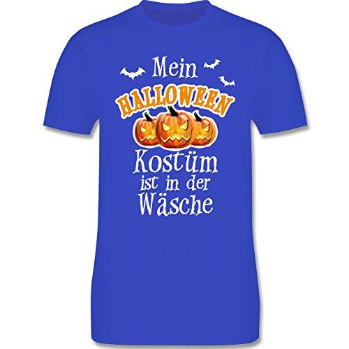 Halloween - Mein Halloween Kostüm ist in der Wäsche - Herren Premium T-Shirt Royalblau