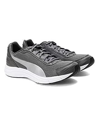 Puma Men's Explorer IDP Charcoal Gray-Silver Running Shoes-6 UK/India (39 EU) (4060979816688)