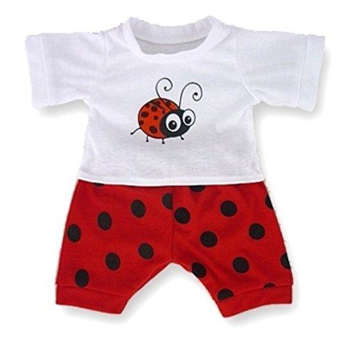 Build your Bears Wardrobe Vêtements pour Ours en Peluche Violet, Pyjamas