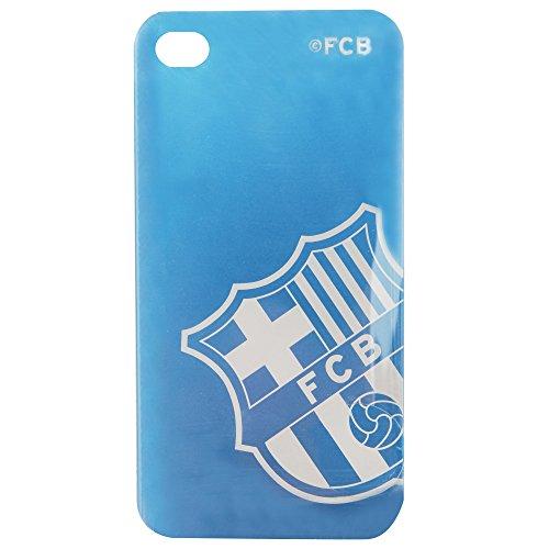 Handytasche / Sleeve / Schutzhülle für iPhone 4 / 4S mit FC Barcelona Design (iPhone 4/4S) (Blau)