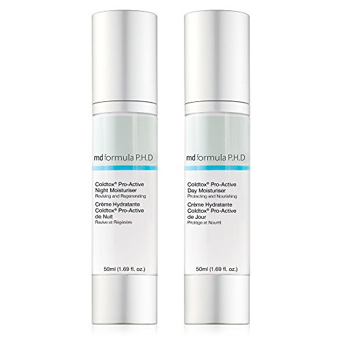 md-formula-phd-coldtox-pro-active-day-night-moisturiser-pack-of-2
