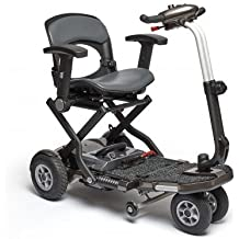 Scooter eléctrico compacto plegable Brio PLUS de Apex | Con reposabrazos ...