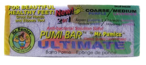New! Ultimate Pumi Bar Purple/ Lavender Mr Pumice Hard Skin Callus Remover Bar