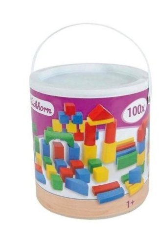 Eichhorn Bausteinbox, 100 Bausteine