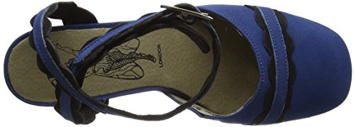 FLY London Trip938, Escarpins Femme Bleu (Blue/Black 004)