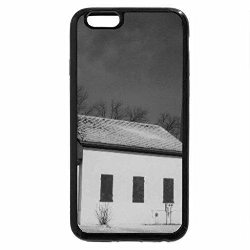 iPhone 6S Plus Case, iPhone 6 Plus Case (Black & White) - STURGEON POINT LIGHTHOUSE (Sturgeon Point)