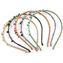 Multiclolor Handcraft cristal brillantes diadema accesorios para el pelo  pelo banda diadema para niñas Mujeres ( 1b360794ab1c