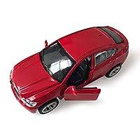 Marchio: MEILANome: modello di auto in lega simulatoMateriale: lega di alta qualitàRapporto prodotto: 1:36Modello: lunghezza 13 × larghezza 6 × altezza 5 cmDimensioni imballo: lunghezza 17 × larghezza 11 × altezza 7 cmPeso auto: 0,45 kgPeso del pacco...