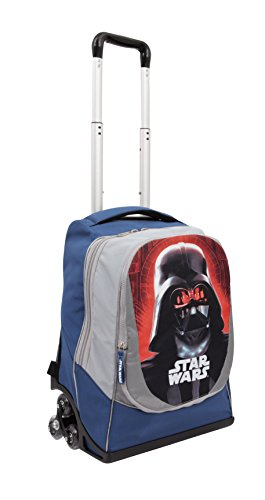 Auguri Preziosi TG901000 Star Wars Rogue One Zaino Trolley 3 Ruote Con Gadget Incluso, Collezione 2017/18