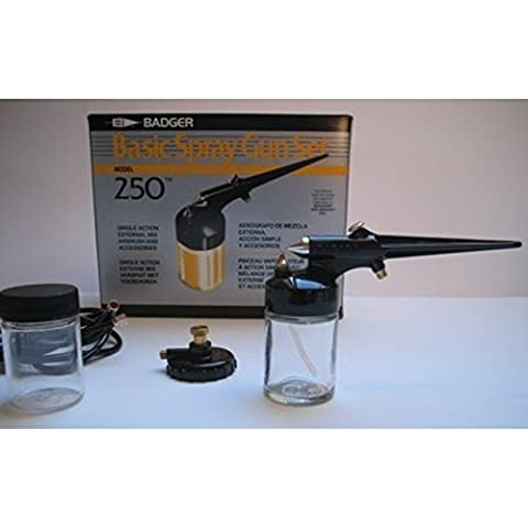 Badger 250 – 1 Basic Spray Gun Juego aerógrafo pistola