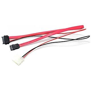 P30 SATA Kabel 7 + 6 Pin Buchse auf 4 Pin Strom 2pin belegt + 7 Pin SATA PC DVD
