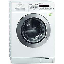 AEG Lavamat LÖKO+++FL Waschmaschine Frontlader / A+++ / 1400 UpM / 8 kg / Weiß / Startzeitvorwahl / SuperEco Programm