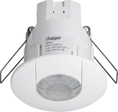 Hager EE816 Präsenzmelder Einbau 360 DA LI/DSI (Amazon Dsi)