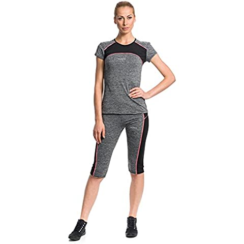 Mobina Conjuntos Ropa de Yoga Jogging Running Camiseta Deportiva Elástica leggings Polainas de Deporte Correr Fitness Para Mujer Función de Secado Rápido