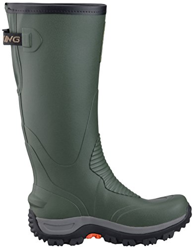 Viking Elk Hunter II, Bottes et Bottines Non Doublées Mixte Adulte Vert - Grün (Green/Black 402)