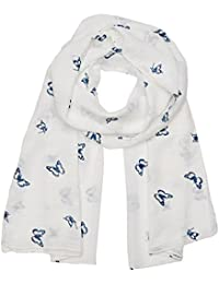 Molly Bracken BC251E17, Foulard Femme, Blanc (White), Taille Unique (Taille Fabricant: TU)