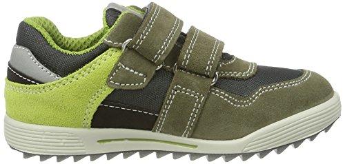 Primigi Pbsgt 7627, Sneakers Basses Garçon Multicolore (Palude/grigio)