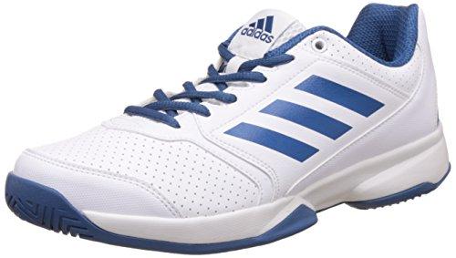 adidas Men's Wondrous Ftwwht, Corblu, Ftwwht and Corb Tennis Shoes...