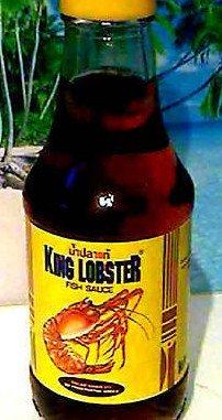 SALZIGE FISCHSAUCE King Lobster SUPER QUALITÄT 200ml