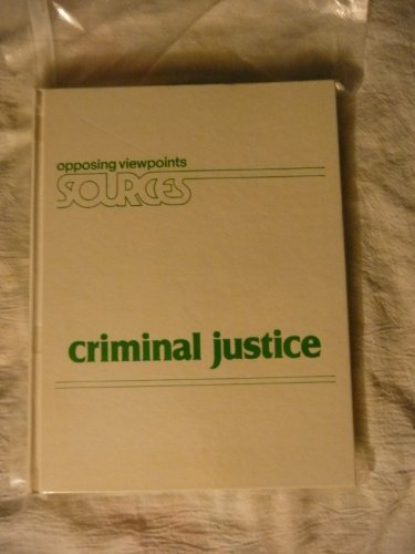 Criminal Justice: 1 (Opposing Viewpoints Sources) por Bruno Leone