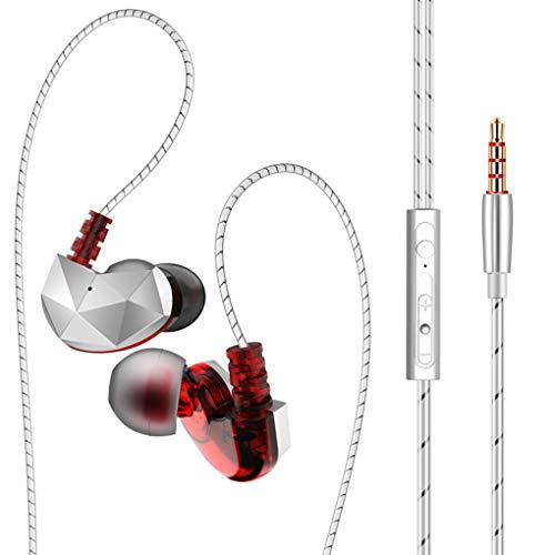 Sunlera QKZ CK6 Kopfhörer magnetische Anziehungs Sport In-Ear-Headset 3,5 mm Universal-Noise Reduction Mic HiFi Wired Telefon Musik Earbuds
