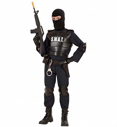 Imagen de s.w.a.t.  disfraz de oficial swat para niño, talla 13 años 55348  alternativa