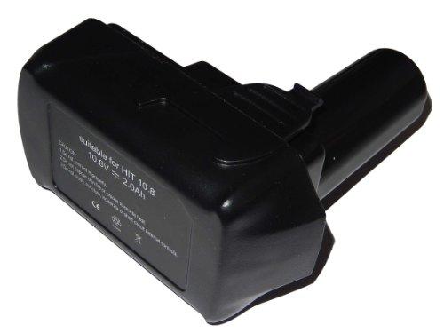 ds10dfl vhbw Akku 2000mAh (10.8V) für Werkzeug Hitachi CJ10DL, CR 10DL, CR10DL, DB 10DL, DB10DL, DB3DL, DS10DFL, FCG 10DL, FCH 10DL, FCR 10DL, FCR10DL.