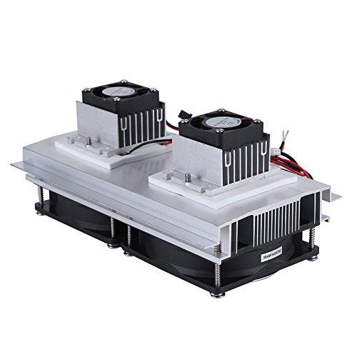 Dual Core Termoeléctrica Enfriador Peltier enfriamiento Sistema de refrigeración Kit con alimentación...