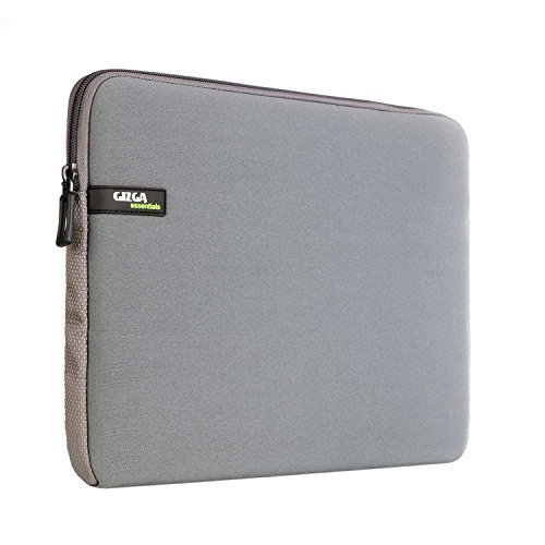 GIZGA 13-13.3 Zoll Laptop Tasche / Schützhülle für Samsung Chromebook 2/Macbook Air/ Acer Aspire Laptop Ultrabook Netbook Notebook Computer Grau