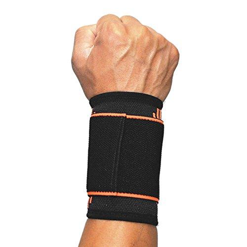 SOFIT Handgelenkbandage Mit Klettverschluss, Elastisch Und Verstellbarer Handgelenkschoner Gegen Sehnenentzündung, Anpassbare Handgelenkstütze Hand-Bandage Für Sport, Fitness, Für Damen und Herren -