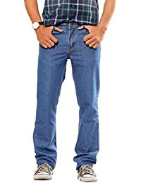 Poly Cotton Regular Fit Non stretchable Mens Sprint Denim by Uber Urban
