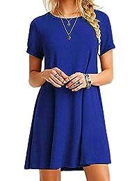 low priced 8e296 8c9e8 Suchergebnis auf Amazon.de für: blaues kleid: Bekleidung
