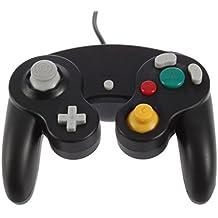 Althemax® NGC Noir DualShock jeu Shock Joypad Manette pour Nintendo Wii GC NGC GameCube